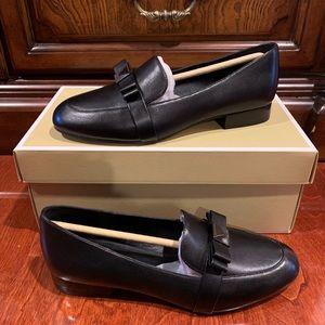 MICHAEL Michael Kors Caroline Bow Leather Loafers